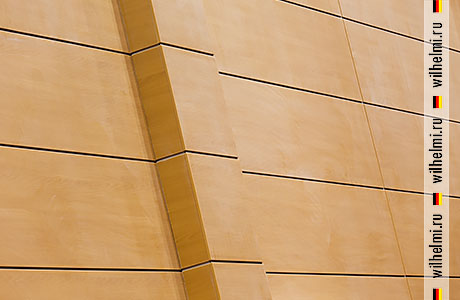 облицовка прямоугольных колонн в зале