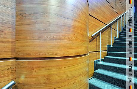 круглые стековые панели для обрамления колонн