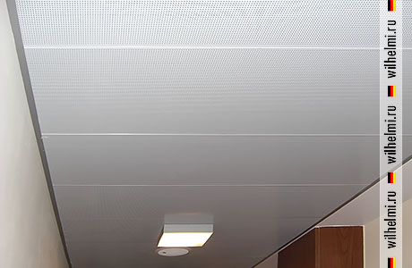 металлические коридорные панели