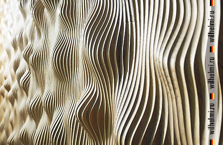 relief 3d wooden panel рельефная деревянная панель для стен