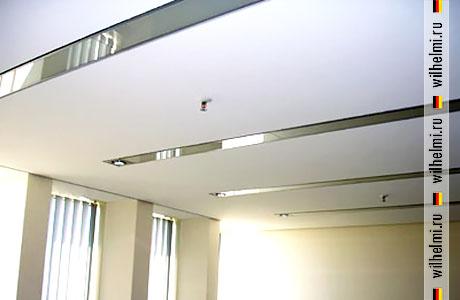 вставка светильников в потолок mikropor fwa