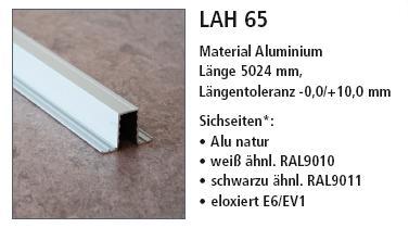 LAH 65 профиль для стеклогранулята Mikropor G
