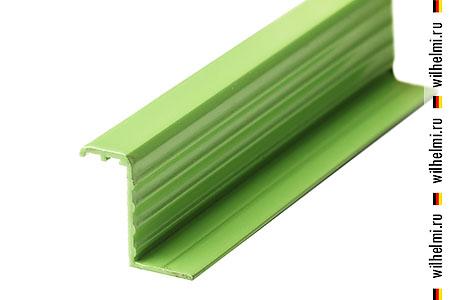 Z профиль зеленый