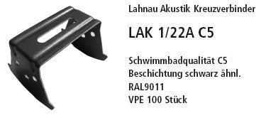 2-х уровневый соединитель LAK 1/22A C5