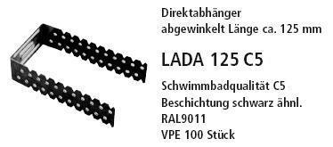 прямой подвес LADA 125 C5