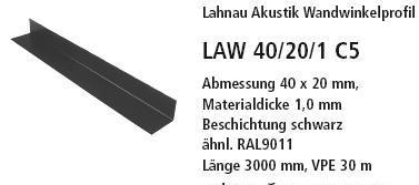 угловой профиль LAW 40/20/1 C5