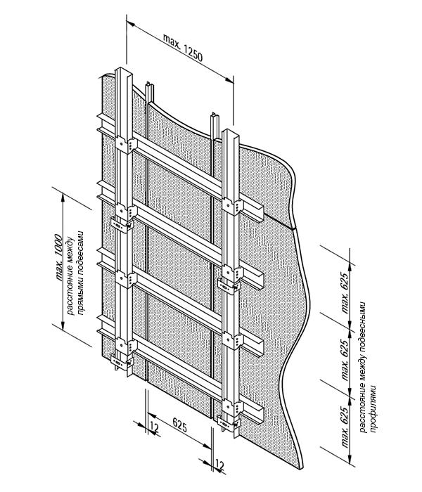 видимая система крепления LAH 65