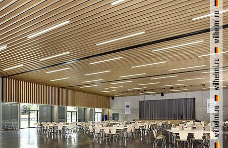 деревянные баффели рейки замели для потолка и стен